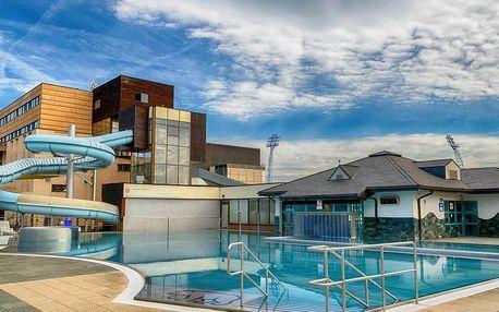 Poprad, hotel Riverside*** přímo u aquaparku s wellness zónou a polopenzí, Poprad, Slovensko
