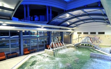 Eger, hotel Eger**** s neomezeným wellness