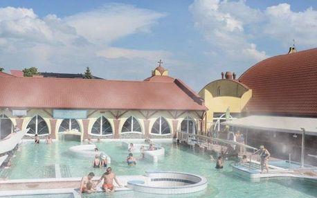 Velký Meder, Hotel Aqua*** u areálu termálních lázní Corvinus s polopenzí, Velký Meder, Slovensko