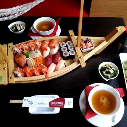 Sushi bar Made in Japan - degustační menu pro dva