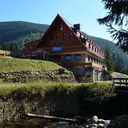 Pobyt s polopenzí v rodinném hotelu ve Špindlu