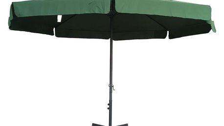Tradgard STANDART 62720 Zahradní slunečník 3 m - zelený
