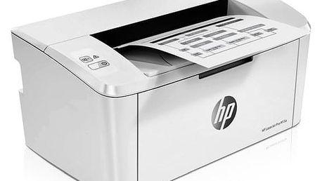 Tiskárna laserová HP LaserJet Pro M15a bílý (W2G50A#B19)