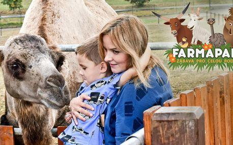 Rodinné vstupenky do Farmaparku až pro 5 osob