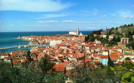 Slovinsko - přírodní krásy, památky i koupání v lázních Laguna, Pobřeží a kras