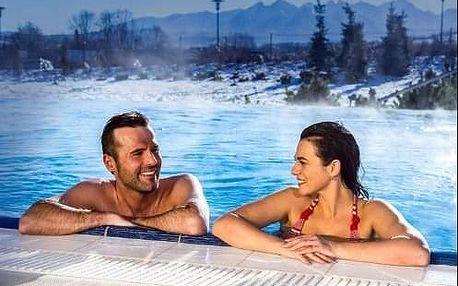 Relaxační pobyt Turčianske Teplice v hotelu s procedurami nebo i Aquaparkem