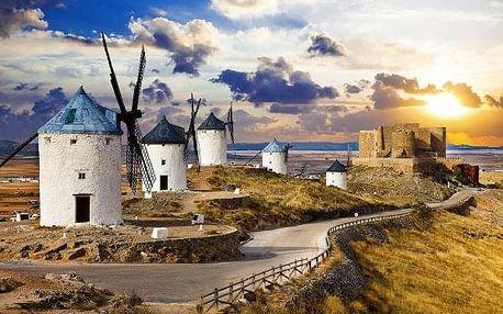 Sólo pro Madrid a Toledo aneb po stopách Dona Quijota, Španělsko, letecky, snídaně v ceně