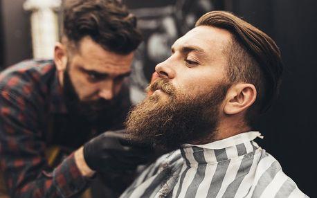 Barber shop: střih vč. stínování či úpravy vousů