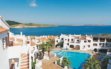 Španělsko, Menorca, letecky na 8 dní polopenze