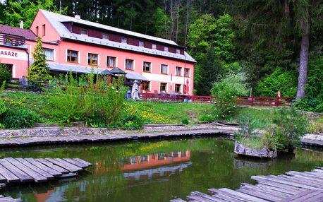 Léto v Bílých Karpatech s polopenzí a neomezeným wellness