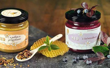 Pastovaný med s chia, ovocem i s mateří kašičkou