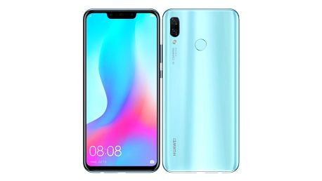 Mobilní telefon Huawei nova 3 modrý (SP-NOVA3LOM)