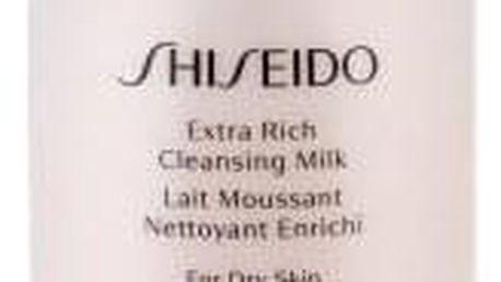 Shiseido Essentials Extra Rich 125 ml čisticí pleťové mléko pro suchou pleť pro ženy