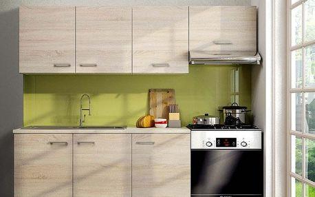 Kuchyň SONO 120/180, pracovní deska v celku