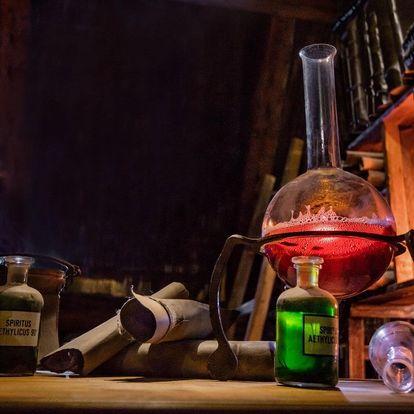 Odhalíte Tajný experiment v únikovce pro 2–4?