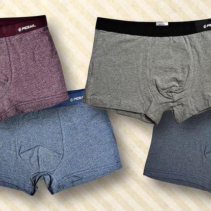 Bambusové nebo bavlněné boxerky v 8 barvách