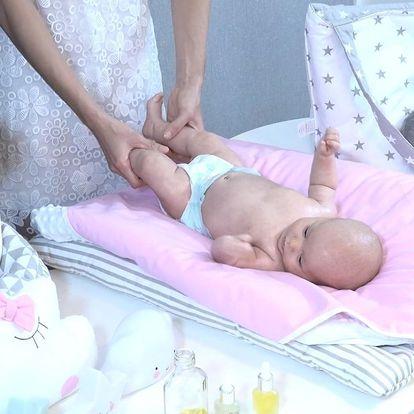 On-line kurz masáží miminek nebo těhotných