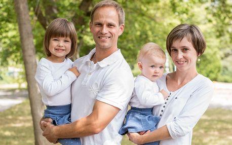 Focení v exteriéru pro rodiny, páry i těhotné