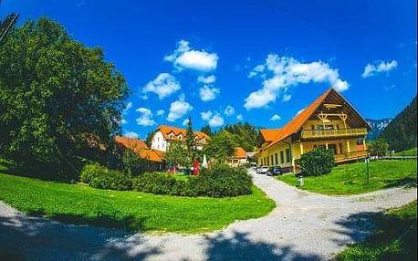 Slovinsko - Osilnica. Neomezený wellness pobyt s polopenzí v hotelu Kovac na hranicích Chorvatska