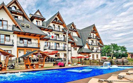 Polské Tatry s wellness, bazénem a polopenzí