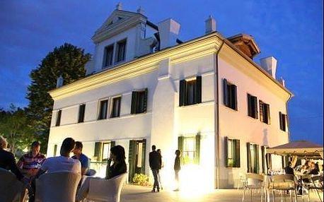 Romantický pobyt pri Benátkách v 5* historické vile se šarmantní atmosférou