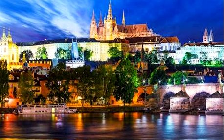 Praha v zrekonstruovaném 4* hotelu White Lion v centru se snídaní pro 2 osoby - Celoročně!