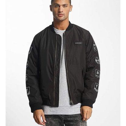 De Ferro / Bomber jacket Stereo in black 2XL