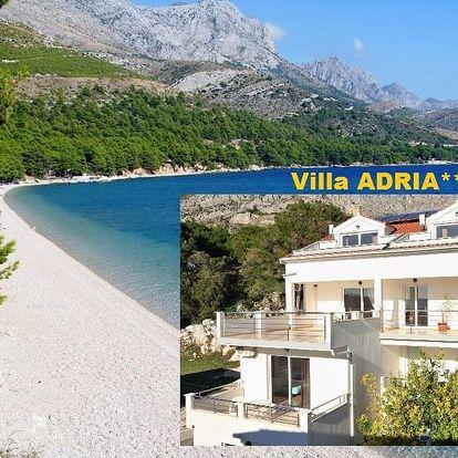 Chorvatsko levně Makarská Živogošče BLATO luxusní Villa ADRIA..., Živogošće