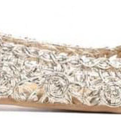 Zlaté baleríny Cocora 3305