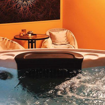Privátní relax: sauna, vířivka i občerstvení