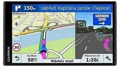 Navigační systém GPS Garmin DriveSmart 61S Lifetime Europe45 černá (010-01681-17)
