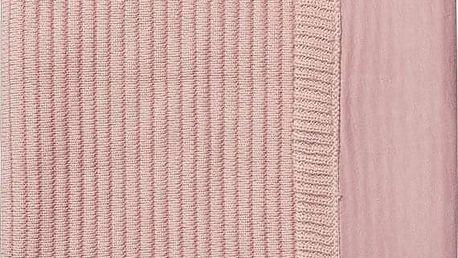 JOOLZ Essentials žebrovaná deka 75x100 cm - Pink