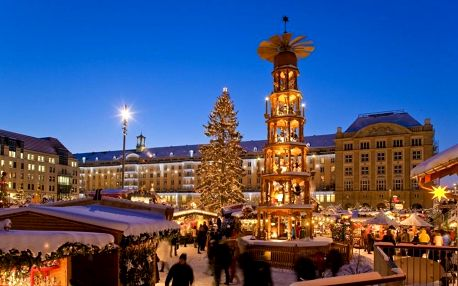 Adventní Drážďany autobusem: za trhy, nákupy, Primark i památky