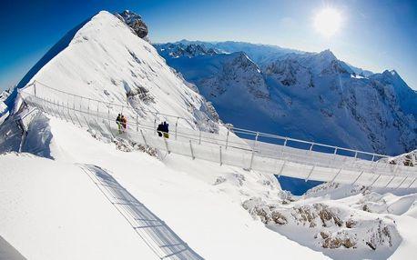 Visutý most na Titlisu, Engelberg a historický Luzern, Urnské Alpy