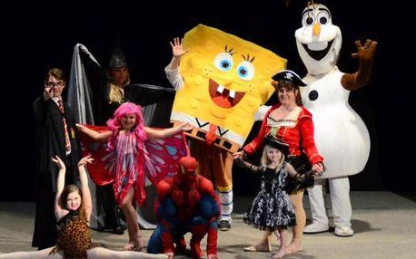 Dětská show s pohádkovými postavami