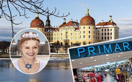 Pohádkový Moritzburg: Tři oříšky pro popelku a Drážďany s trhy