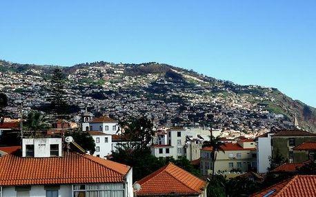 Madeira - Funchal na 5 dní, bez stravy s dopravou letecky z Prahy