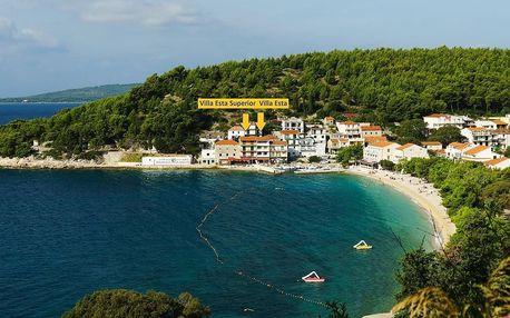 Chorvatsko, Villa ESTA přímo u MOŘE, Makarská riviéra DRVENIK, vlas..., Dalmácie - Splitská oblast