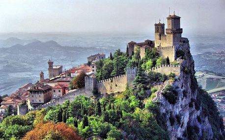 San Marino s pobytem na pláži, Emilia - Romagna