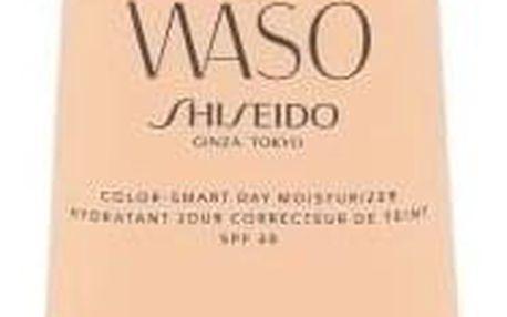 Shiseido Waso Color-Smart Day Moisturizer SPF30 50 ml hydratační krém pro sjednocení tónu pleti pro ženy