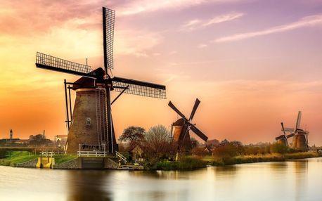 Zájezd na 4 dni do Nizozemí: Amsterdam, typické sýry a větrné mlýny