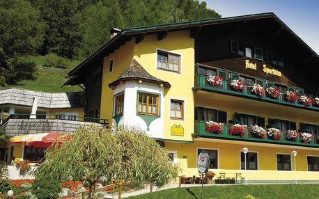 Hotel Sportalm v rakouských Alpách u přírodní rezervace UNESCO Nockberge