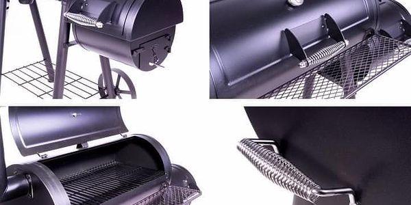 Garthen 2344 BBQ gril na dřevěné uhlí, extra velký 32 kg2