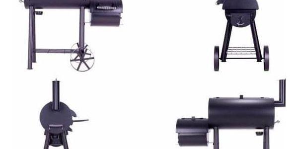 Garthen 2344 BBQ gril na dřevěné uhlí, extra velký 32 kg4