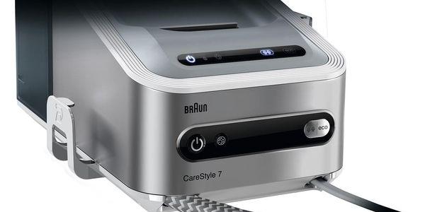 Žehlicí systém Braun CareStyle 7 IS7143WH stříbrná/bílá + dárky Žehlicí prkno Braun IB3001BK v hodnotě 2 690 Kč + DOPRAVA ZDARMA5