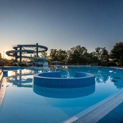 Neomezený relax v Thermalparku Dunajská Streda s pobytem v apartmánovém domě Termál