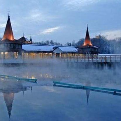 Hévíz, Hunguest Hotel Panoráma *** se vstupenkou do termálního jezera v ceně, Hévíz, Maďarsko