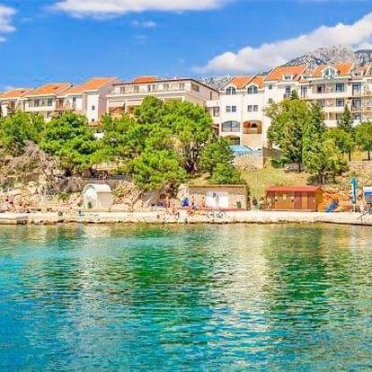 Chorvatsko v Hotelu Zagreb *** na pláži s bazény a all inclusive + dítě zdarma