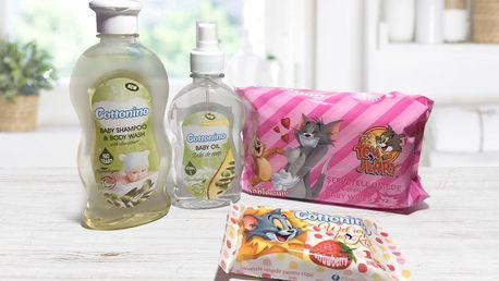 Dětská kosmetika: šampon, sprchový gel i olej