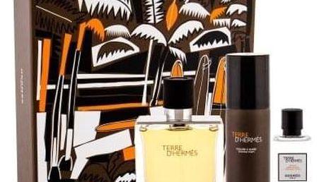 Hermes Terre D´Hermès dárková kazeta pro muže parfém 75 ml + voda po holení 40 ml + pěna na holení 50 ml